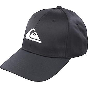 Quiksilver Hombres Décadas Snapback Sombrero - Negro