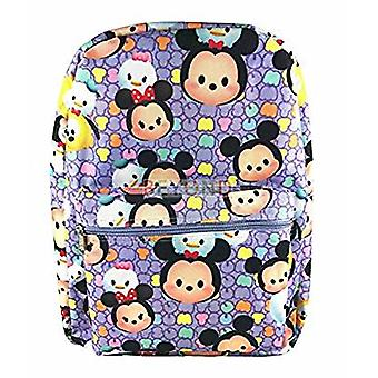 Backpack - Disney - Tsum Tsum - All-Over Print Purple 16