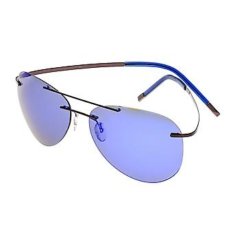 تبسيط سوليفان النظارات الشمسية المستقطبة -- البني / الأرجواني الأزرق