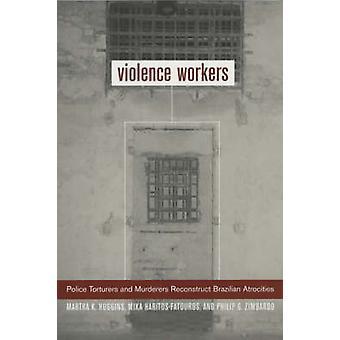 Pracowników przemocy - policja oprawców i morderców rekonstrukcja Brazilia