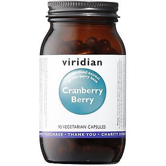 Viridian Cranberry Berry Extract Veg Caps 90 (807)