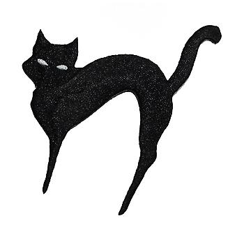 Patch - Animals - Black Cat Iron On Gifts New Licensed p-3488