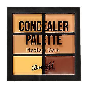 Barry M concealer Palette-medium/mörk
