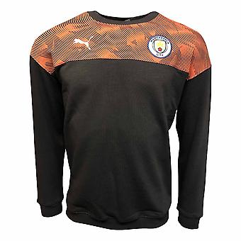 2019-2020 Manchester City Puma Casuals hiki yläosa (asfaltti)