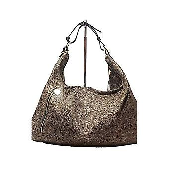 Borbonese Hobo Extra Large Women's Shoulder Bag (Classic Op/Brown) 57x37x22 cm (W x H x L)