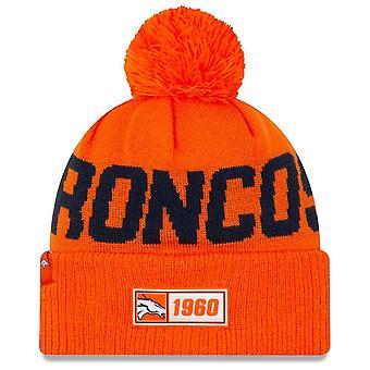 New Era Nfl Denver Broncos 2019 Sideline Road Sport Knit