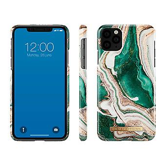 iDeal Of Sweden iPhone 11 Max Pro/XS Max-Golden Jade Marble