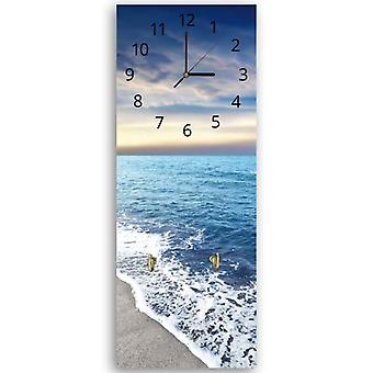 Decorative clock with hanger, Sea coast