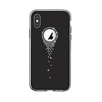 iPhone XS Max - DEVIA Angel Tears Series Skal - Svart
