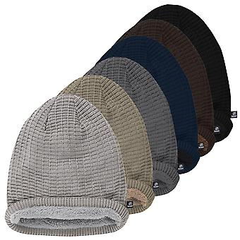 Brandit unisex Beanie JOHN Ajour knitted Twinpack