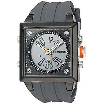 CEPHEUS CP900-622B-men's wristwatch, silicone, colour: grey