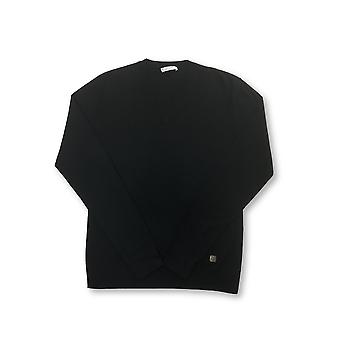 Versace Collection silk and cashmere knitwear in black