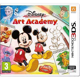 Gioco Nintendo Disney Art Academy 3DS (copertina italiana)