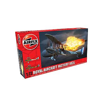 Airfix A02101 Royal Aircraft Facility BE2C Scale 1:72 Model Kit