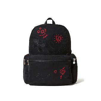 Desigual Dejavu Oss Love Design Backpack