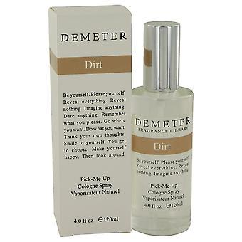 Snavs af Demeter Cologne Spray 4 oz/120 ml (mænd)