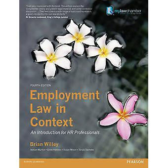 Employment Law in Context by Brian Willey