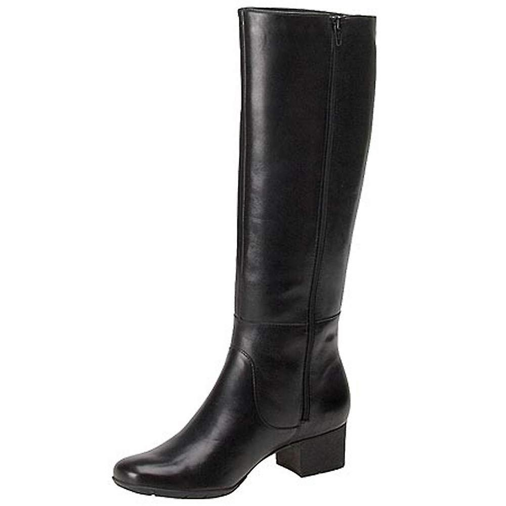 Walking Cradles Womens Mix Leather Round Toe Knee High Fashion Boots aTk2Y