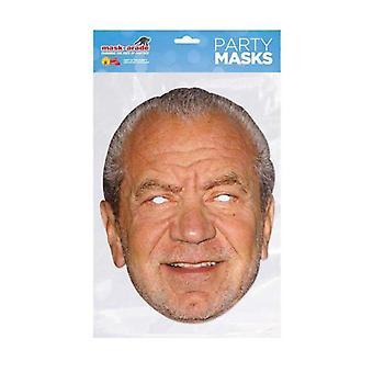 Alan Sugar Celebrity Face Mask