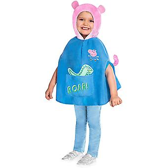 Peppa Wutz Costume Enfants Schorsch George Cloak Schorsch Costume Peppa Pig