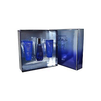Davidoff Cool vand natten dyk kvinde Eau de Toilette Spray 50ml Shower brise 50ml, bodylotion 50ml