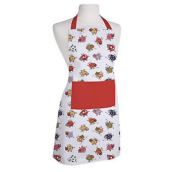 Downview Cow Print Cotton Apron