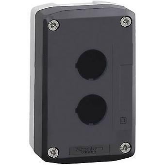 Schneider Electric XALD02 inhägnad 2 installationsplatser blank mörkgrå, ljusgrå 1 st (s)