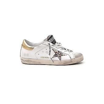 Golden Goose G36ws590v77 Damen's Weißes Leder Sneakers