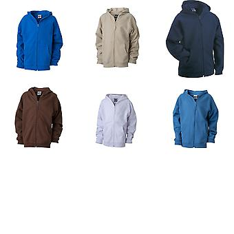 James and Nicholson Childrens/Kids Hooded Jacket