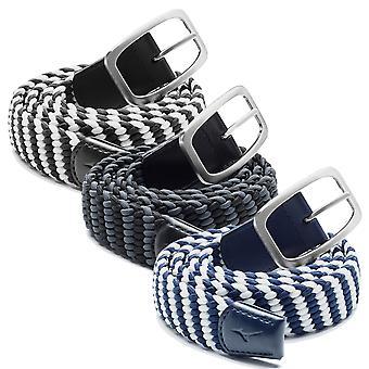 Mizuno Mens 2020 Rubber Mesh Stretch Buckle Adjustable One Size Golf Belt
