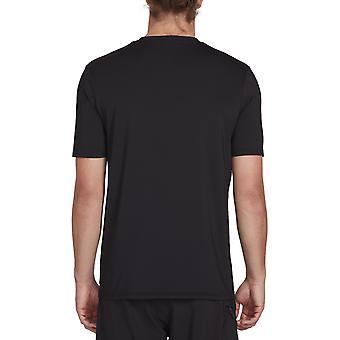 Volcom Deadly Stones Short Sleeve Rash Vest in Black