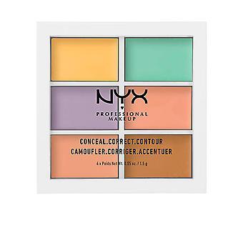 Nyx Conceal Correct Contour Palette 6x1,5 Gr voor dames