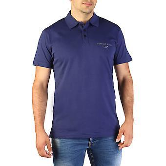 Versace Jeans Original Men Spring/Summer Polo - Blue Color 35234