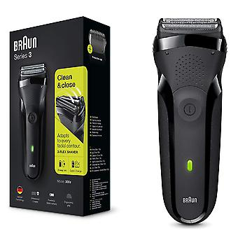 Braun BRN-300S Series 3 Rechargeable Electric Foil Shaver Mens Grooming