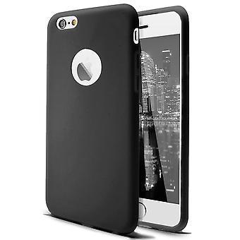 Shell para Apple iPhone 6 Plus/6s Plus Caja de protección TPU negra