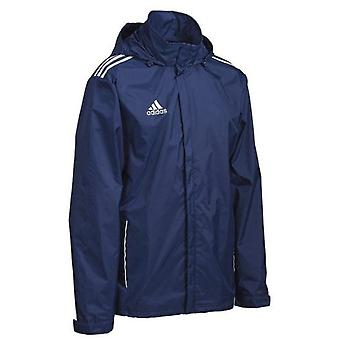Adidas Junior Core 3 Stripes Rain Jacket