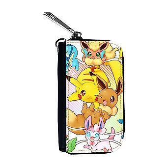 Pokemon Pikachu & Eevee Car Key Case