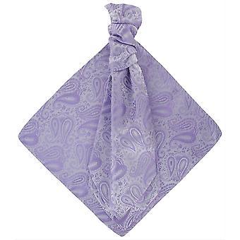 Michelsons di Londra tonale Paisley cravatta e fazzoletto da taschino Set - Lilla