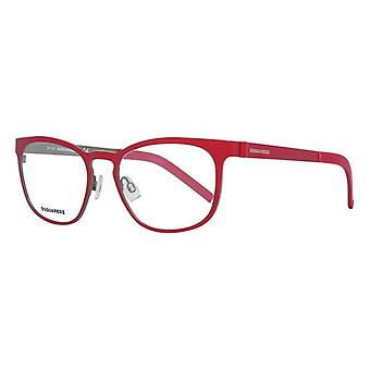 Ladies'Spectacle frame Dsquared2 DQ5184-068-51 (ø 51 mm) Red (ø 51 mm)