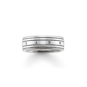 Thomas Sabo Silver Branded Ring