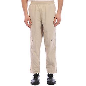 A Parete Fredda Acwmb003whlmobe Uomini's Beige Nylon Pantaloni