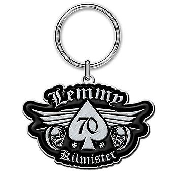 Lemmy Keyring Keychain Kilmister 70 Logo Motorhead new Official Metal