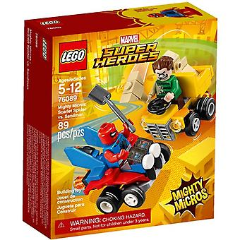 LEGO 76089 Mighty Micros: Scarlet Spider vs. Sandman