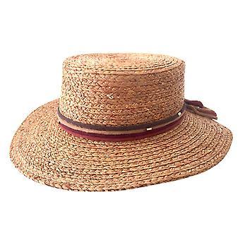 Jacaru 1858 raffia harrow hat