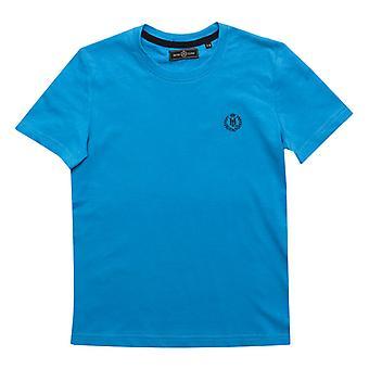 Boy's Henri Lloyd Junior Radar T-shirt in Blauw