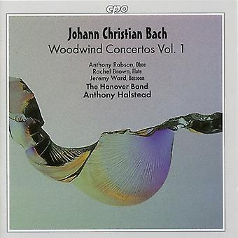 J.C. Bach - J.C. Bach: Concertos de bois, importation USA Vol. 1 [CD]