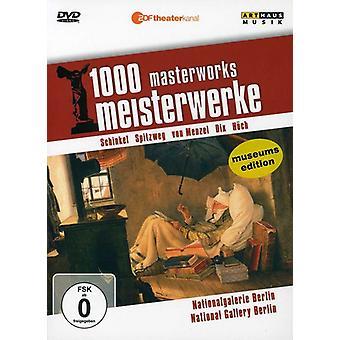 National Gallery Berlin: 1000 Masterworks [DVD] USA import