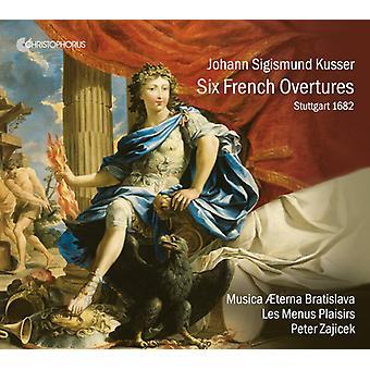Kusser / Musica Aeterna Bratislava - Six French Suites [CD] USA import
