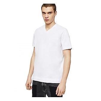 Diesel T Cherubik V Neck Biała koszulka