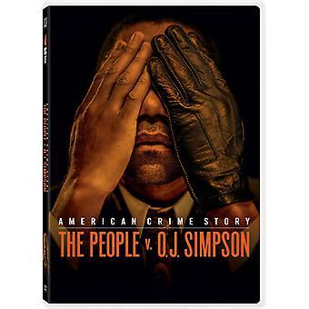 アメリカの犯罪の物語: 人々 V Oj シンプソン 【 DVD 】 USA 輸入